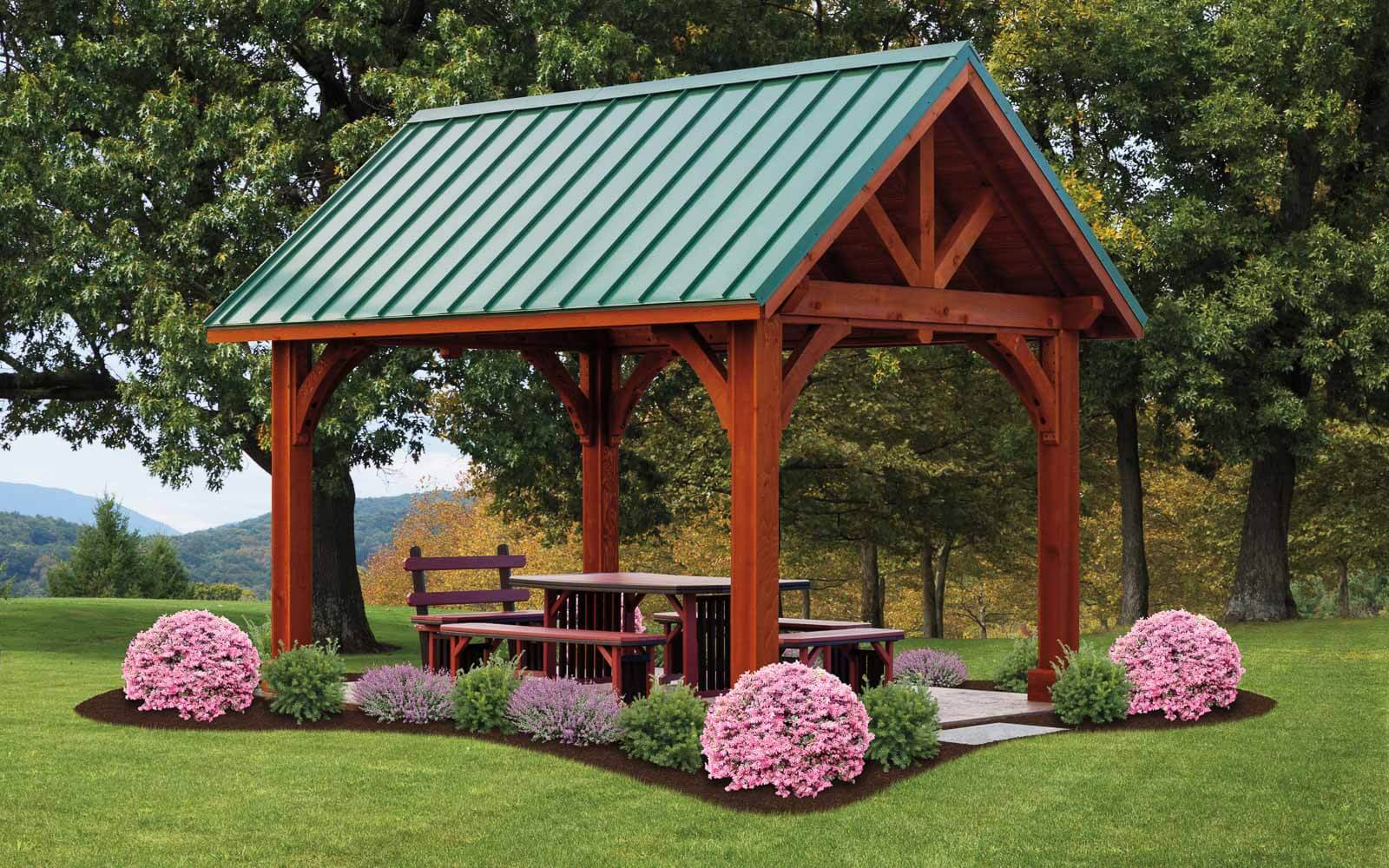 alpine pavilions river view outdoor products