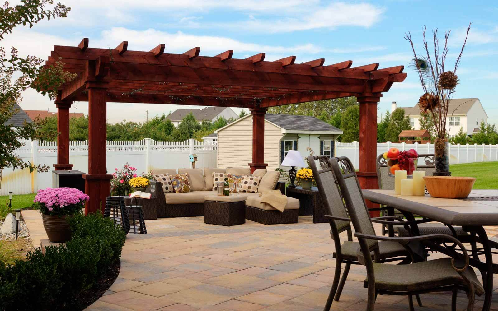 Artisan Wood Pergolas River View Outdoor Products