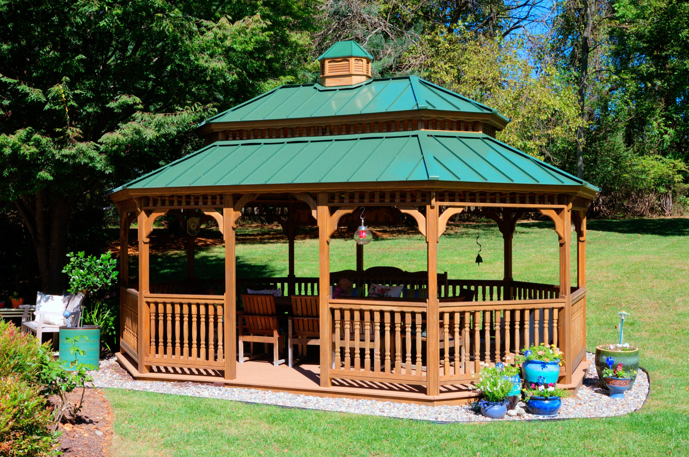 Wood Gazebos | River View Outdoor Products