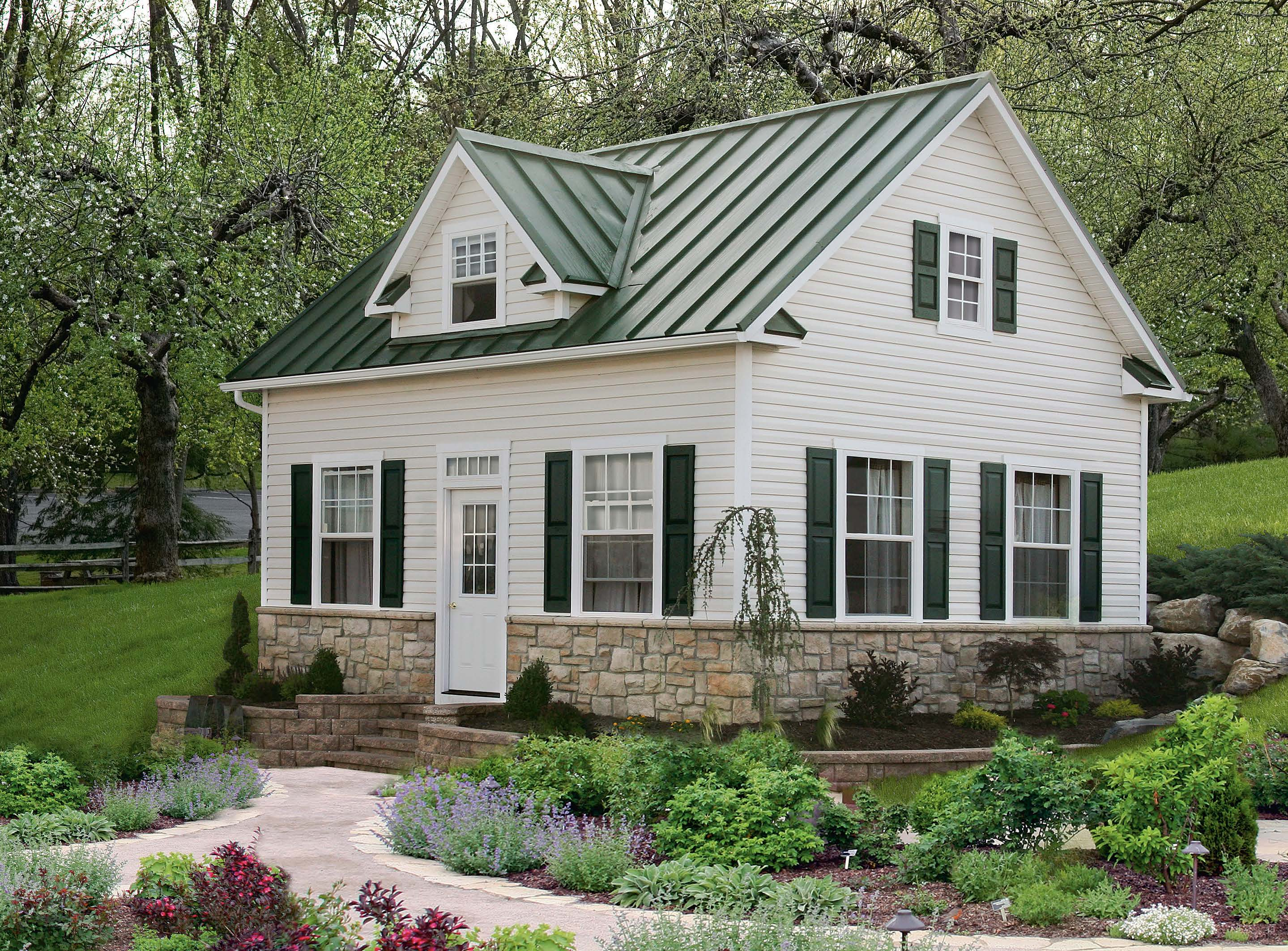 Two story sheds and garages river view outdoor products for Two story buildings