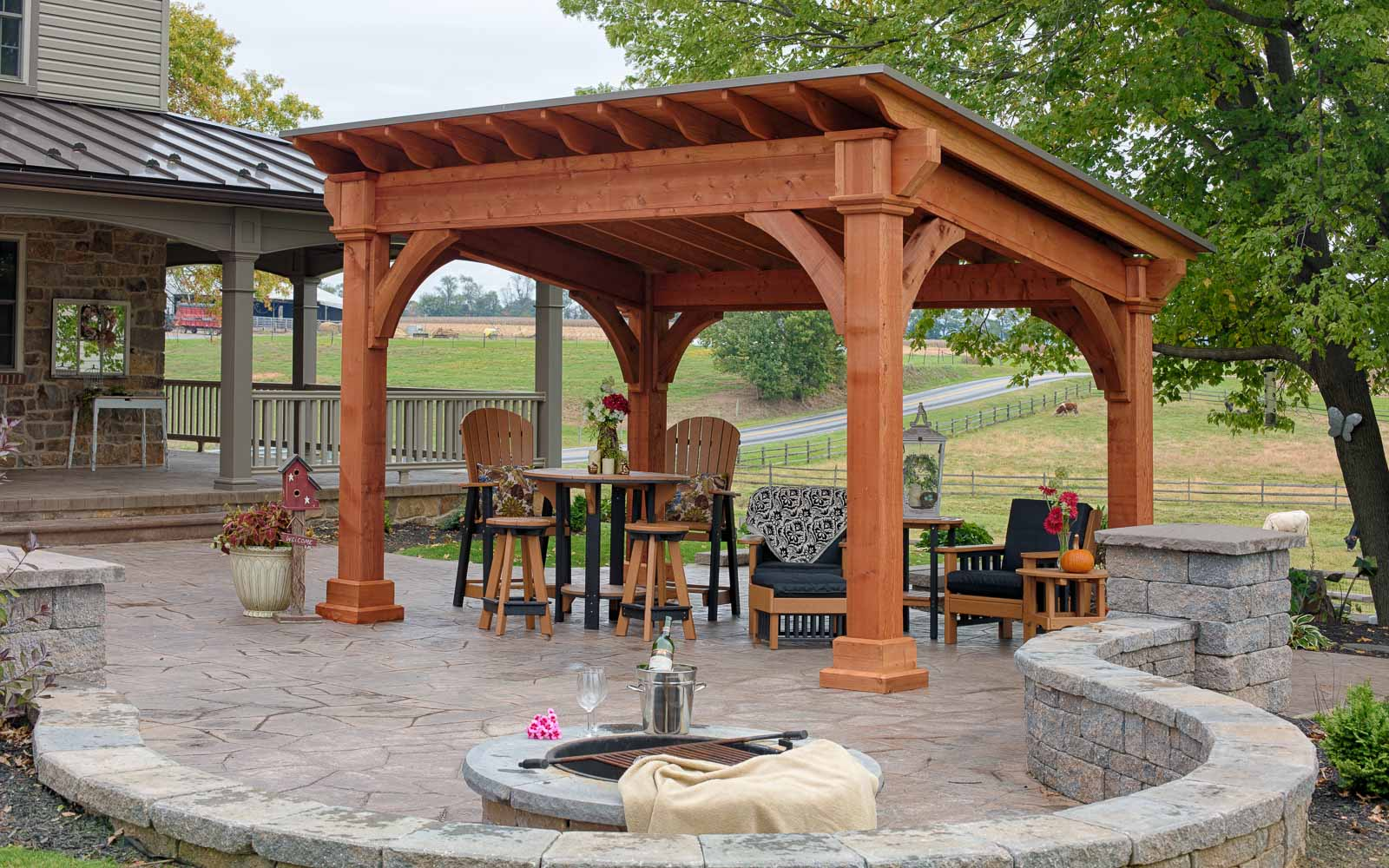 Santa Fe Pavilions River View Outdoor Products