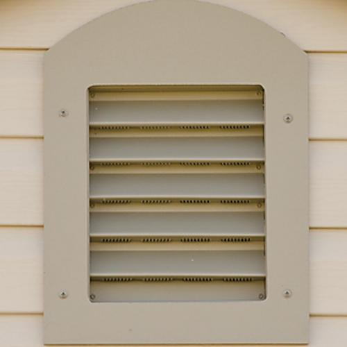 Garden Gable Vent for Wood or Vinyl Shed