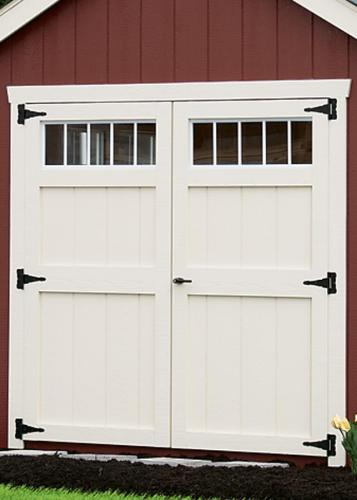 New England Wood Doors with Transom Windows