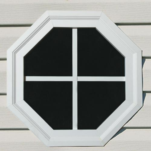 "14"" Octagon Window (White Only)"
