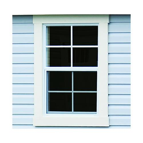 Painted New England Window Trim Instead of Shutters