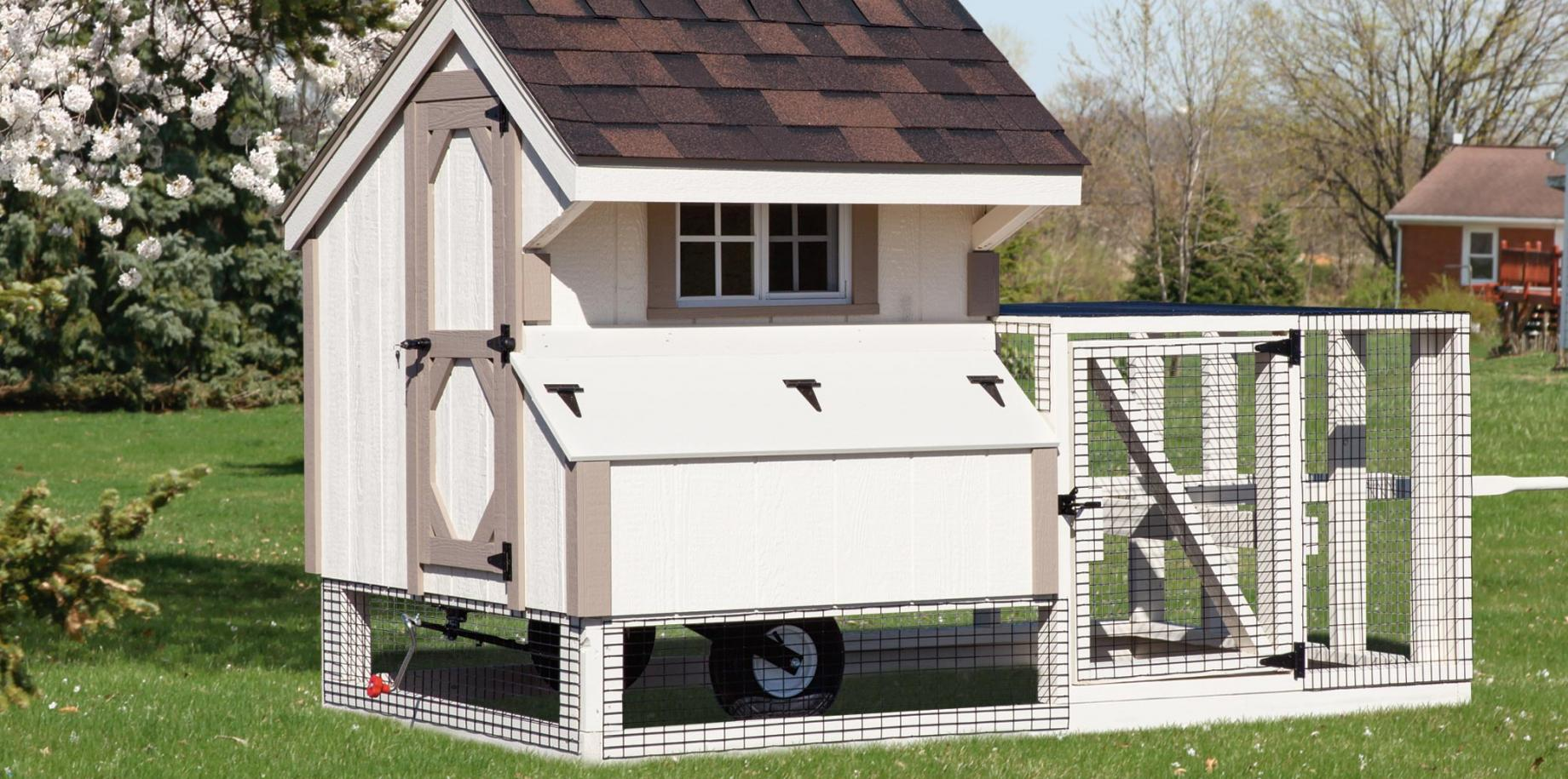 3'x4' Quaker chicken house