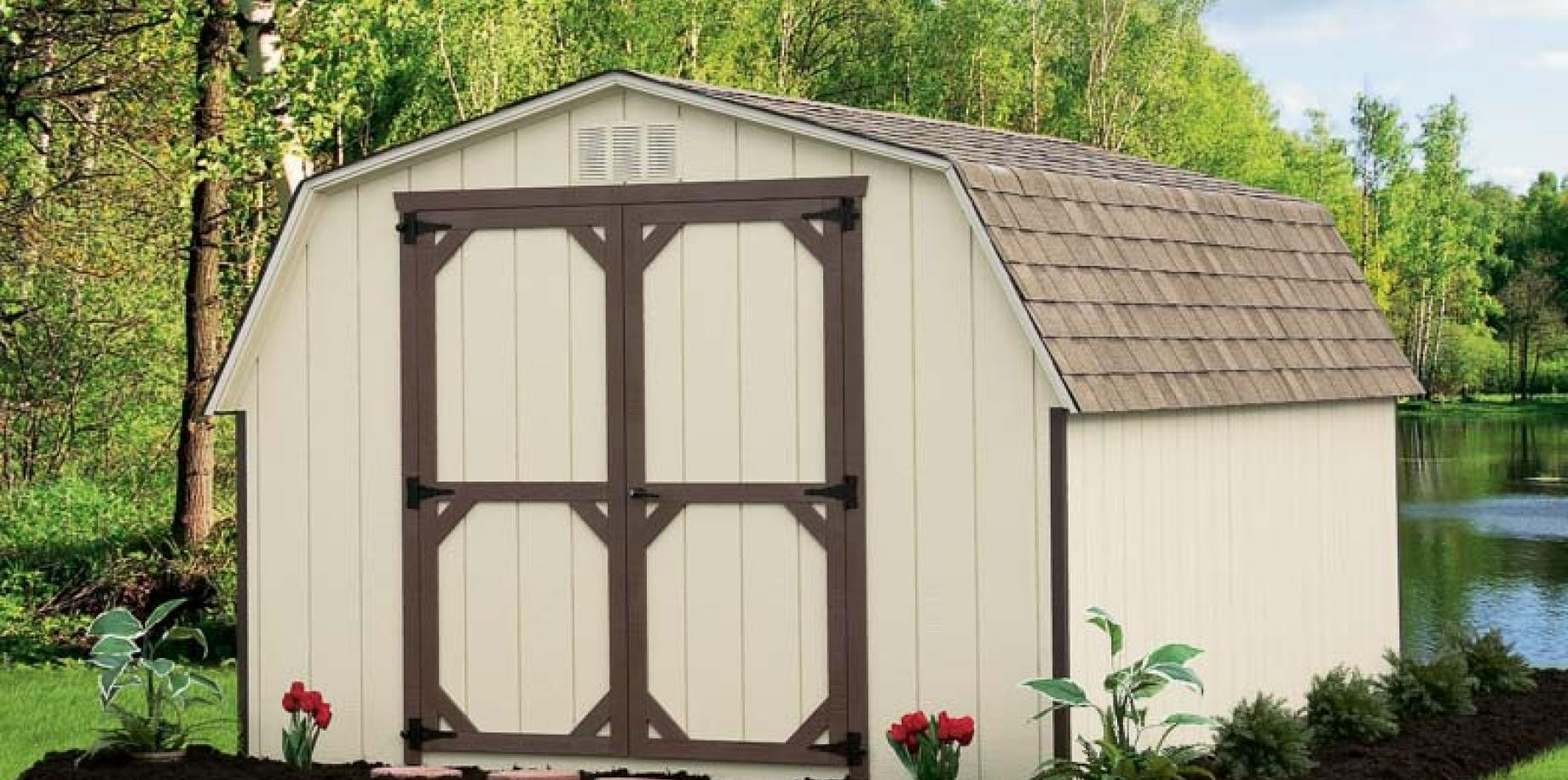 Amish Storage Sheds River View