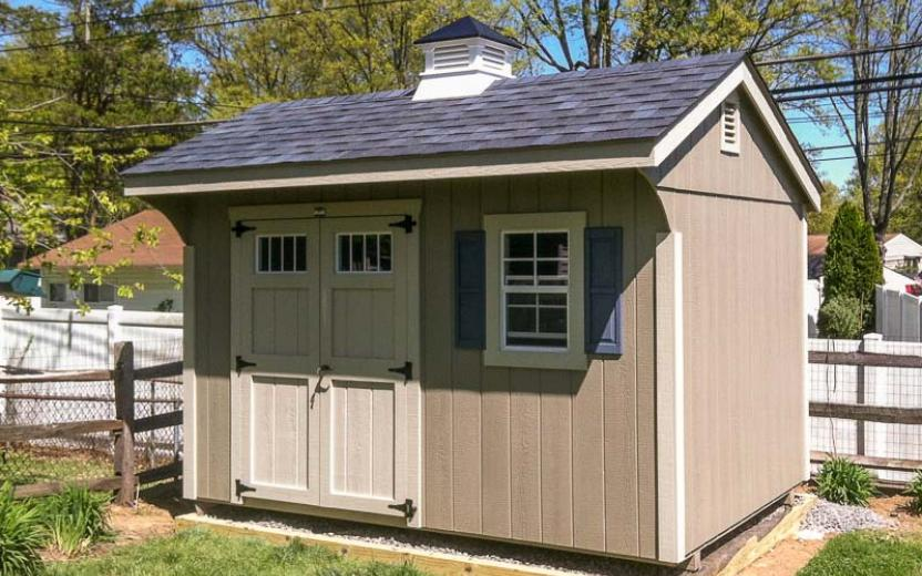 Attractive Quaker Style Storage Shed