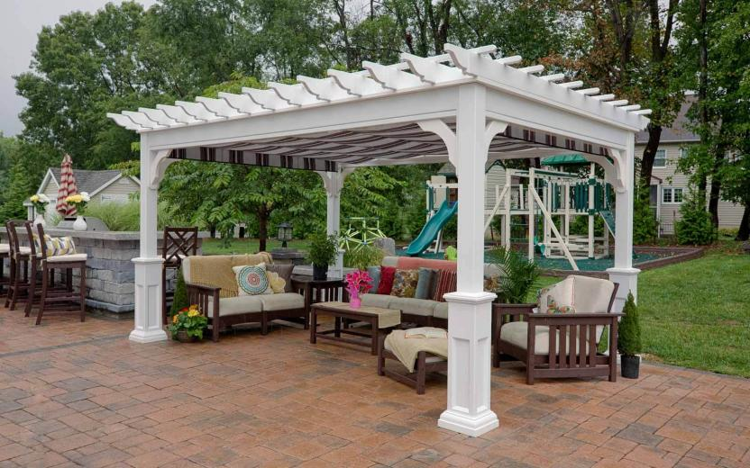 Traditional Vinyl Pergolas